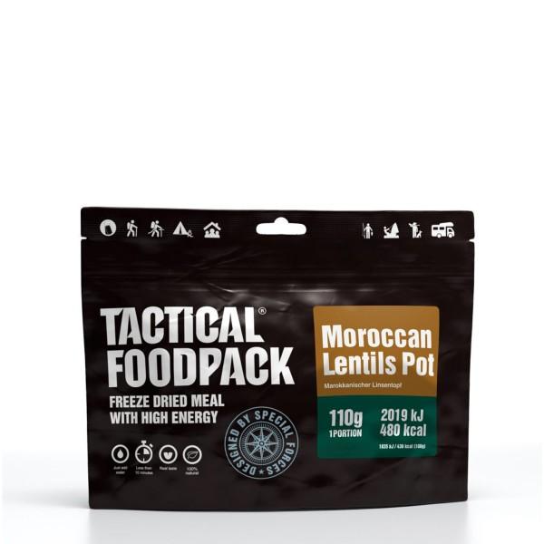 Tactical Foodpack - Marokkanischer Linseneintopf mit Reis - 110g