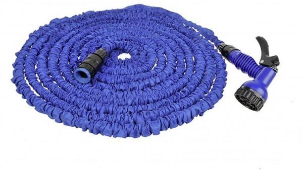 MAGIC Wasserschlauch mit Zieharmonika Effekt - 5 bis 15m - nur 0,7kg - max 2,5bar - Schnellkupplung