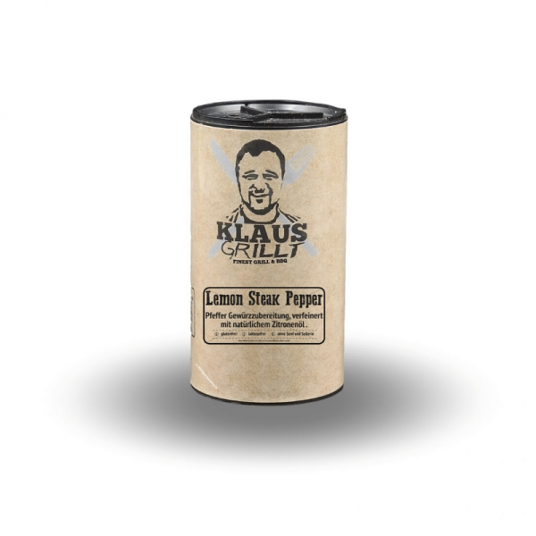Klaus Grillt Lemon Steak Pepper 100 g Streuer