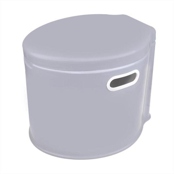 Tragbare Camping-Toilette - Eimer mit Deckel - Super leicht - 7 Liter