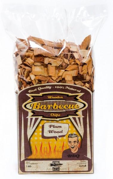 Axtschlag Pflaume Räucher Chips 1Kg