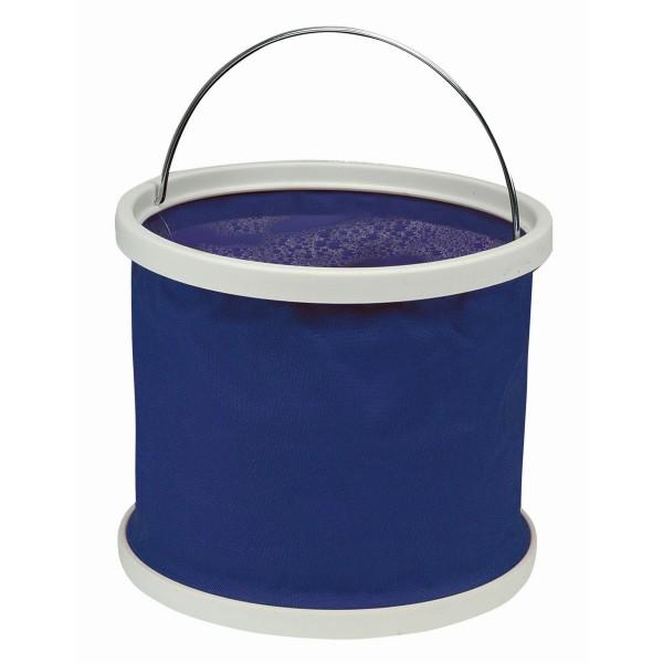 Falteimer 8 Liter - aus beschichtetem Nylon - mit Tragegriff