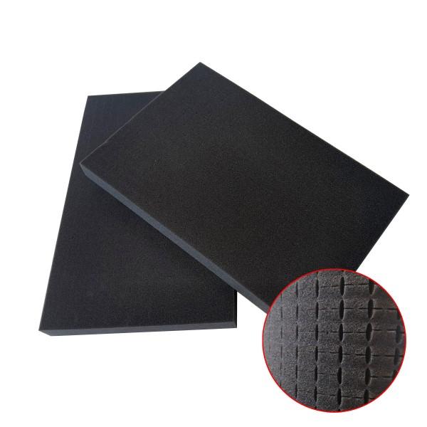 GORANDO® Ersatz-Würfelschaum für ABS Werkzeugkoffer (Doppelpack)