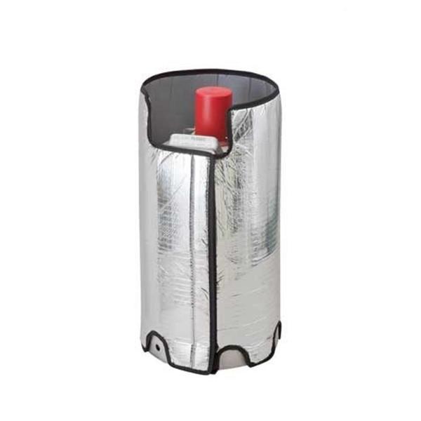 Thermoabdeckung Gasflasche - Schutz einer 11kg Flasche vor extremer Hitze oder Kälte