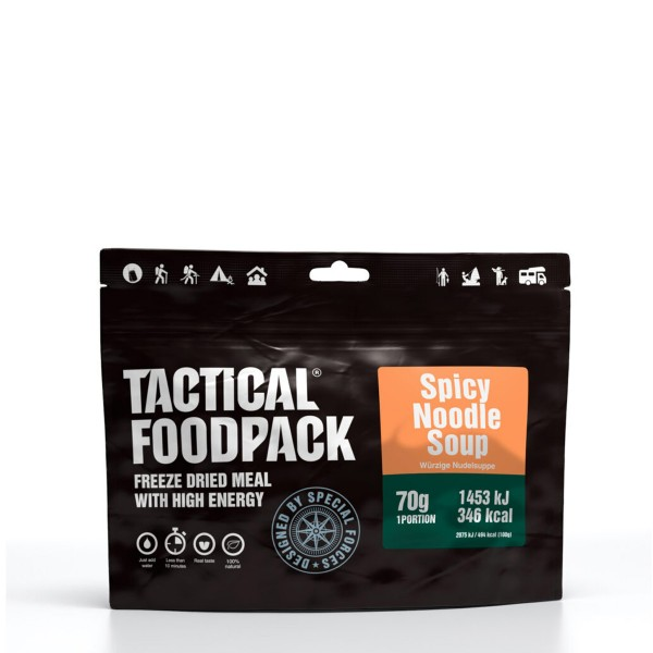 Tactical Foodpack - Würzige Nudelsuppe mit Hähnchenbrust und Gemüse - 70g