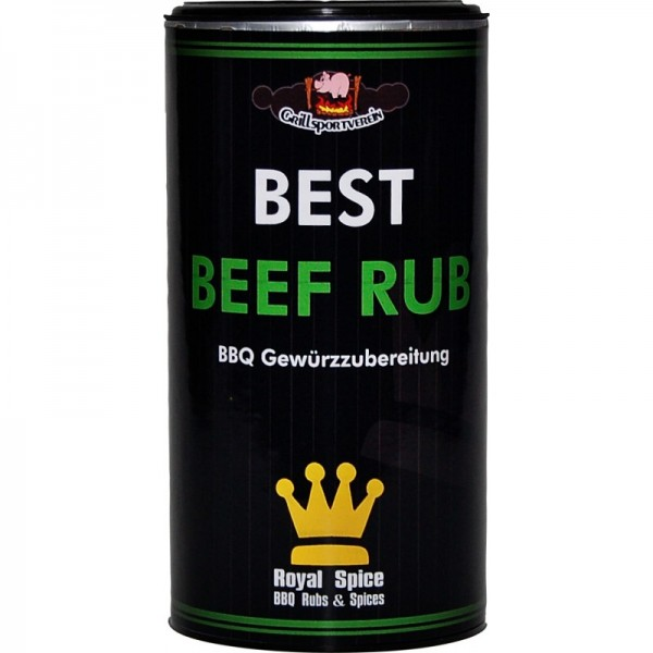 Royal Spice Best GSV Beef Rub, 350g Dose Grillsportverein
