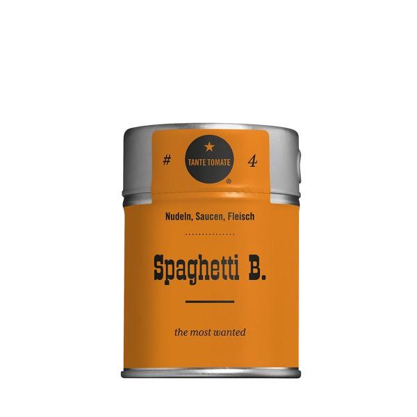 Spaghetti B. - Gewürzzubereitung - Für Nudeln, Saucen und Fleisch - 60g Streuer