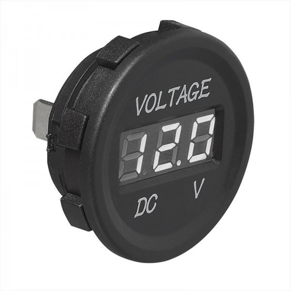 Einbau-Voltmeter digital 6-30V - Einbaumessgerät