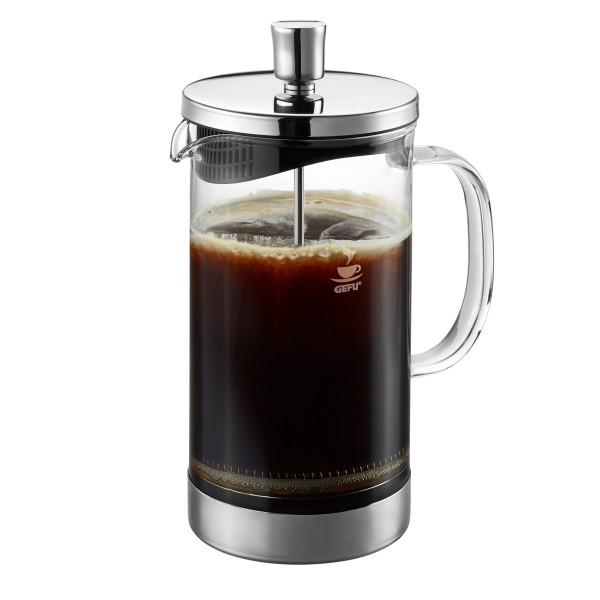 Kaffeebereiter DIEGO - French Press System - 1000ml - Glas/Edelstahl