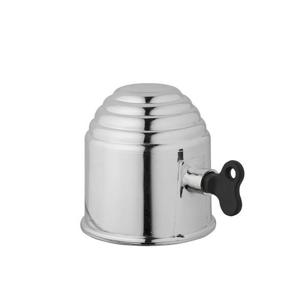Abdeckkappe Anhängerkupplung - Kunststoff - chrom mit Schloss