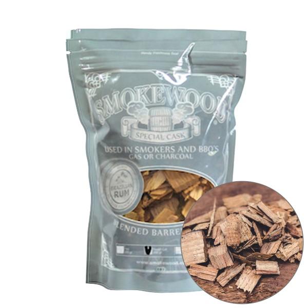 Smokewood Brazilian Rum Rough Cut - Räucherholz aus alten Rumfässern