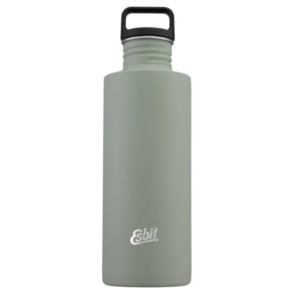 ESBIT SCULPTOR Edelstahl Trinkflasche, 1L, Stone Grey
