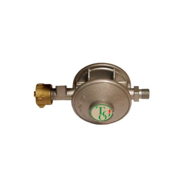 Gasregler zweistufig 50mbar 1kg/h - für gewerbliche Anwendung nach UVV BGV D34 § 11 Abs.3+4