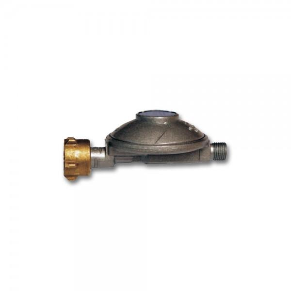 """Gasregler Niederdruck 30mbar - 1,5kg/h - Kleinflaschenanschluss x 1/4"""" links - einstufig - CAMPING"""