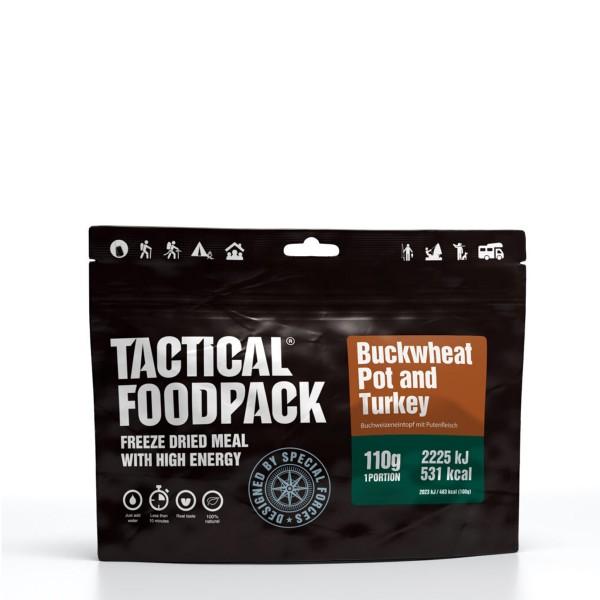 Tactical Foodpack - Buchweizeneintopf mit Putenfleisch  - 110g