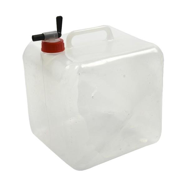 Faltkanister 10 Liter - Wasserkanister mit Auslaufhahn und Griff - 207g