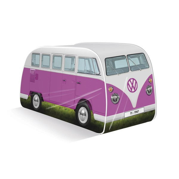 VW Collection - VW T1 Bus - Kinder Pop up Spielzelt - pink