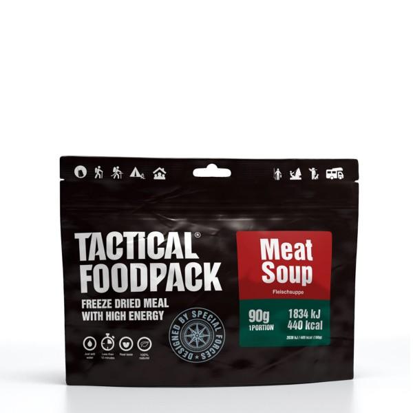 Tactical Foodpack - Klassische Fleischsuppe mit Schweinefleisch - 90g