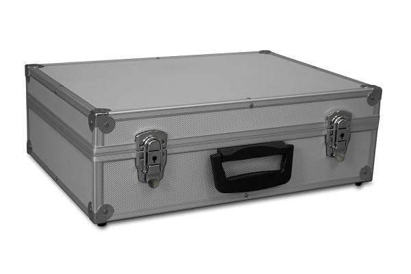 GORANDO® Transportkoffer mit Aluminiumrahmen | 440x300x130mm | Koffer für Werkzeuge, Kameras, Messgeräte etc. | bis 10kg