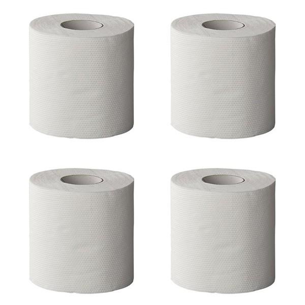 Schnell lösliches Toilettenpapier - 4 Rollen