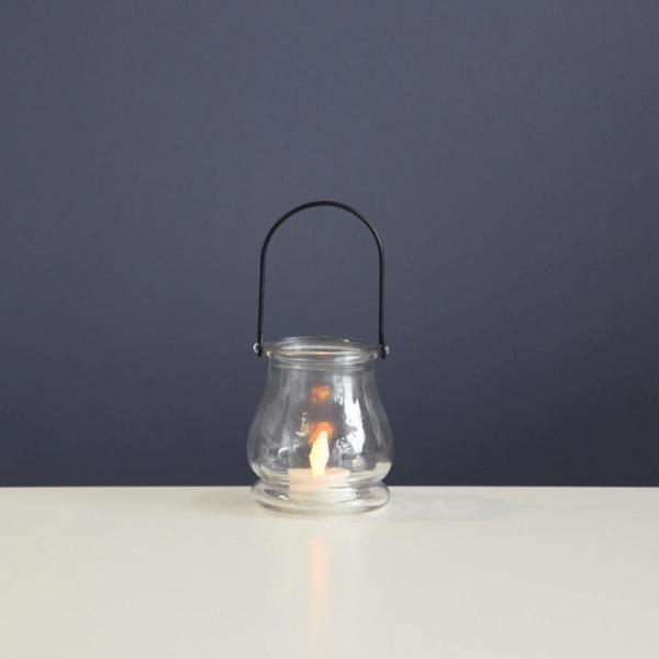 LED-Windlicht | Jara | flackernde LED | ↑9.5cm