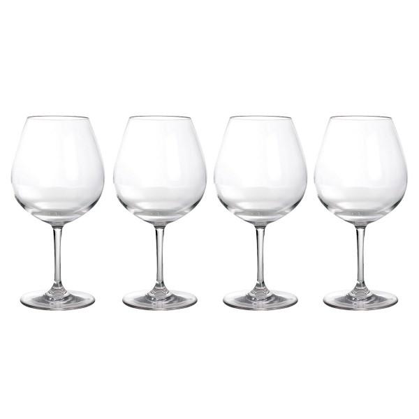 Rotweinglas aus bruchfestem Polycarbonat - 700ml