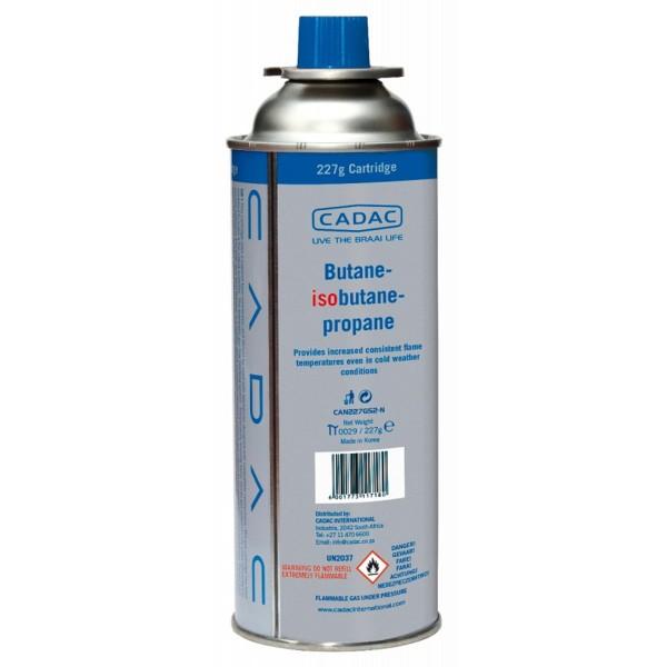 CADAC CAN227 Butan/Propan Kartusche mit SSN-29 Anschluss - 227g