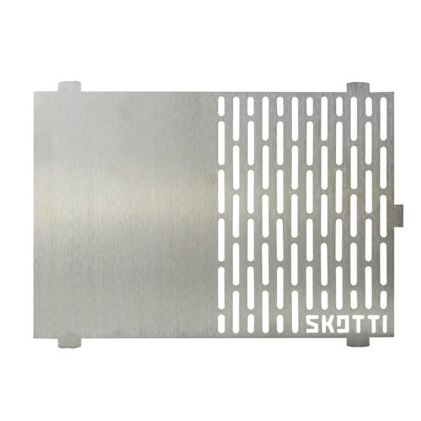 SKOTTI Plancha - Die Edelstahl Grillplatte für den SKOTTI Gasgrill