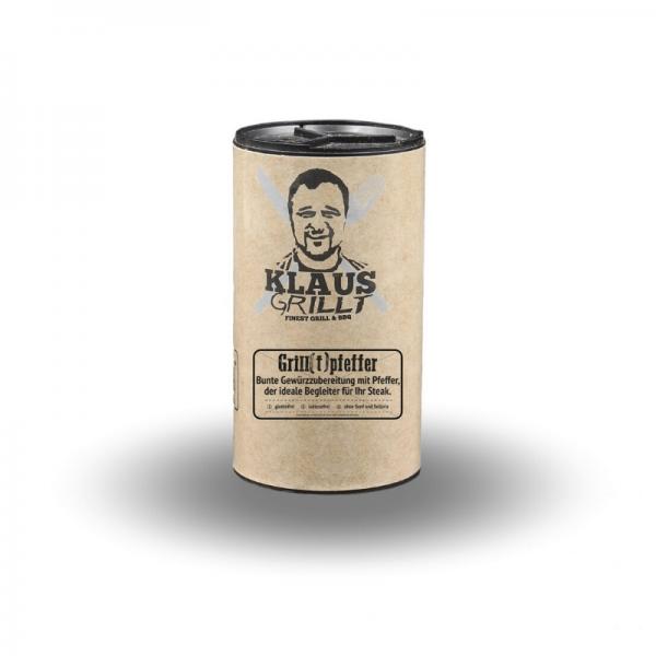 Klaus Grillt Grill[t]pfeffer 100 g Streuer