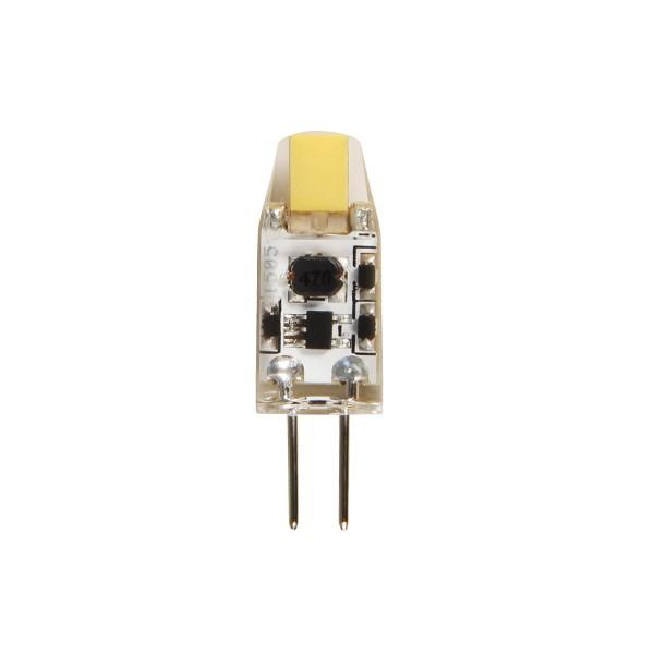 LED COB Leuchtmittel Stiftsockel G4 - 12V - 1W - 110lm - 4000K
