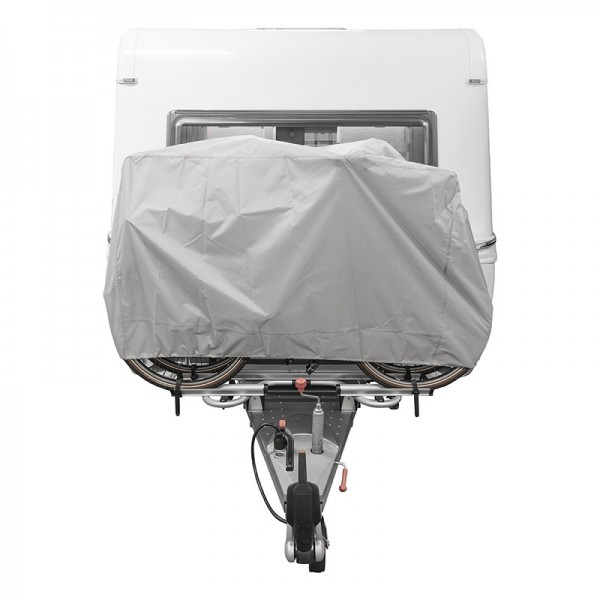 Fahrradschutzhülle XL für 2 Fahrräder - Deichselmontage
