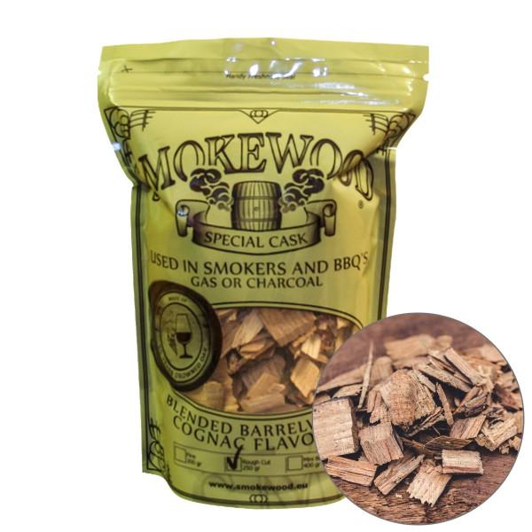 Smokewood Cognac Rough Cut - Räucherholz aus alten Cognacfässer