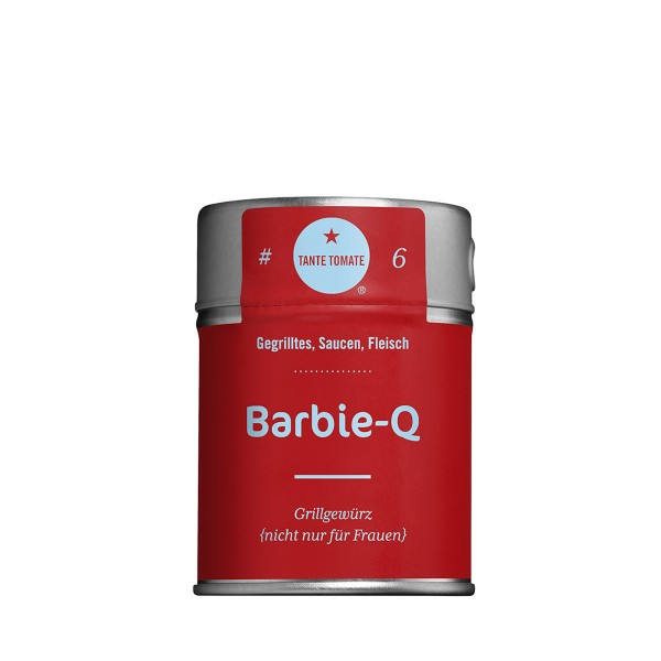 Barbie Q - Gewürzzubereitung - Für Gegrilltes, Saucen und Fleisch - 60g Streuer