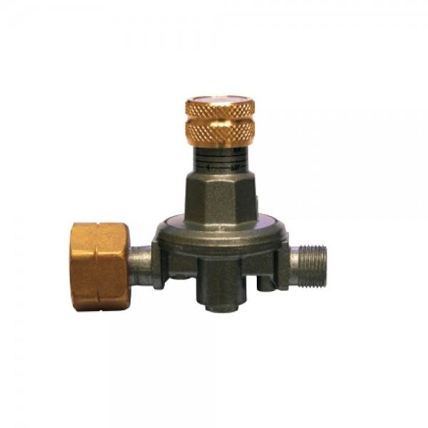 Gasregler 0,5-4bar einstellbar - 8kg/h Durchsatz