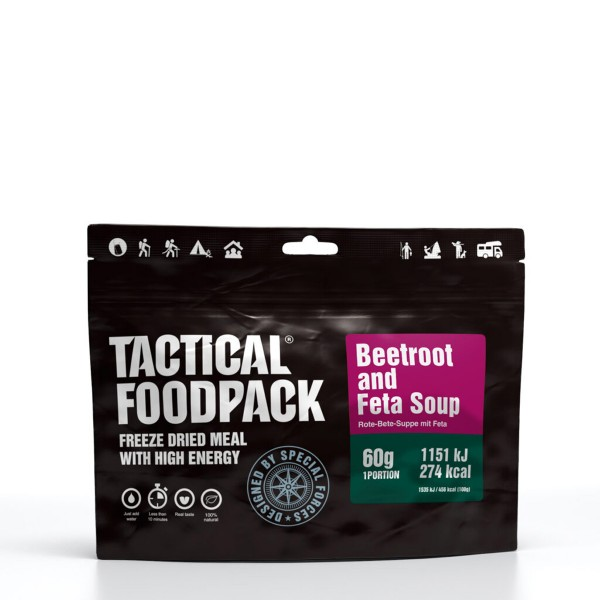 Tactical Foodpack - Rote-Beete-Suppe mit Fetakäse - 60g