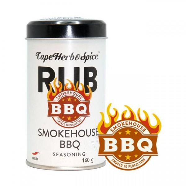 Cape Herb & Spice  Rub Smokehouse BBQ 160g aromatische würzige Räuchermischung