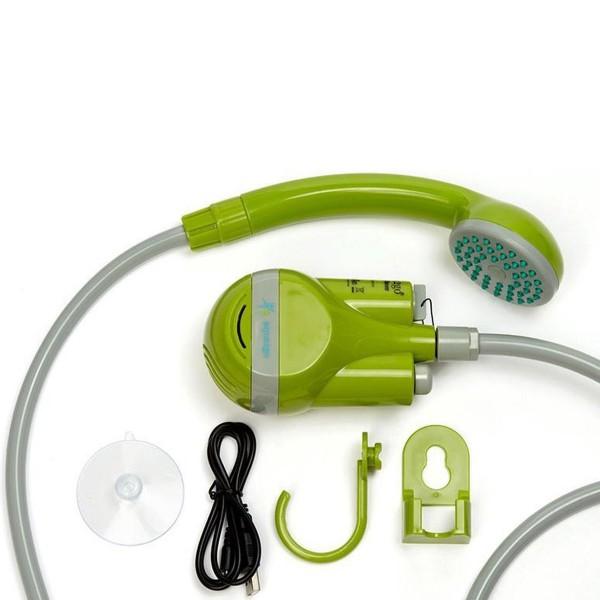 Outdoor Dusche Akkubetrieb - mit USB Kabel wiederaufladbar - Tauchpumpe 4 Liter/Minute