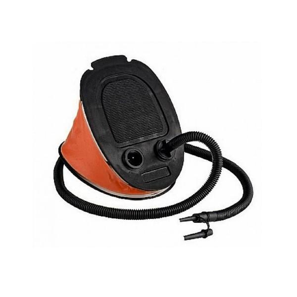 Fußpumpe - Luftpumpe mit Blasebalg - 5 Liter Volumen - mit Entleerfunktion