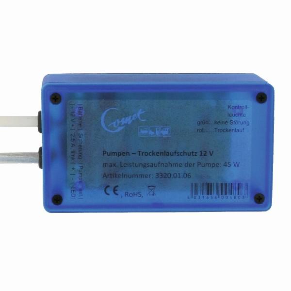 COMET Trockenlaufschutz - Für Tauchpumpen 12V - max 45W