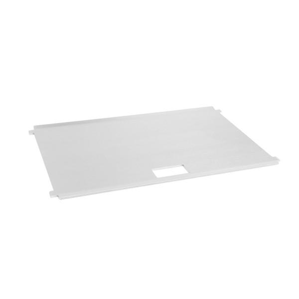FENNEK - Plancha Grillplatte für FENNEK Grill - 100% Edelstahl - Grillfläche 27 x 16cm
