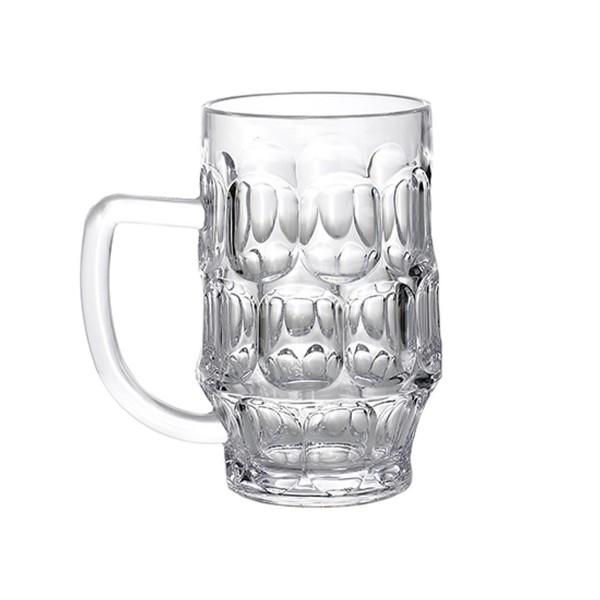 Bierkrug aus bruchfestem Polycarbonat - 700ml