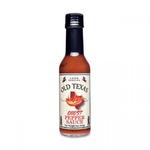 Old Texas Ghost Pepper Sauce - 148 ml für den extra scharfen Kick