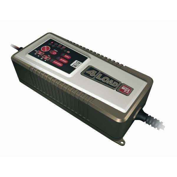 4LOAD Charge Box 7.0 - für 14 - 230 AH Batterien - intelligentes Ladegerät - Prozessorgesteuert 12/24V