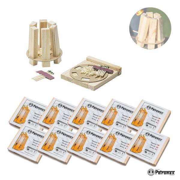 Petromax 10er Set Feuerkit kit - Praktische Anzündhilfen