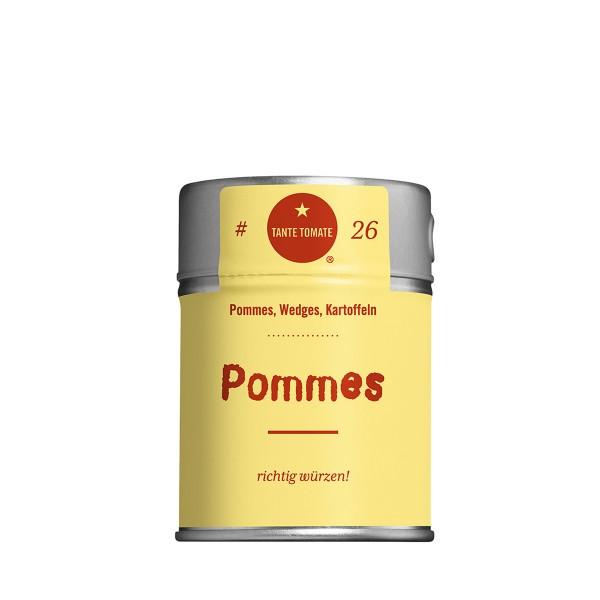 Pommes - Gewürzzubereitung - Für Pommes, Wedges und Kartoffeln - 60g Streuer