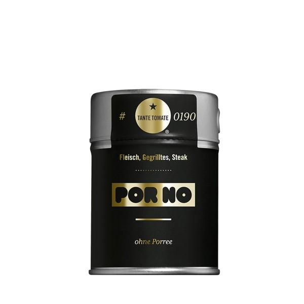 PorNo - Gewürzzubereitung - Für Fleisch, Gegrilltes und Steak - 65g Streuer