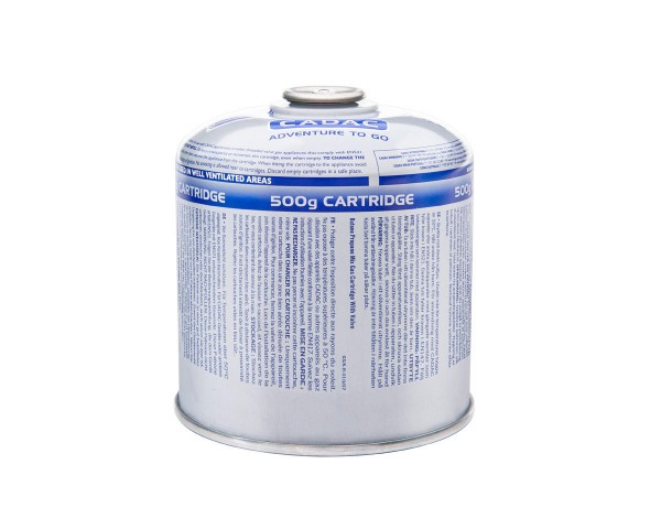 CADAC CA 500 Ventil-Gas-Kartusche (500g Butan-Propan-Gemisch) - EN417 Gewinde