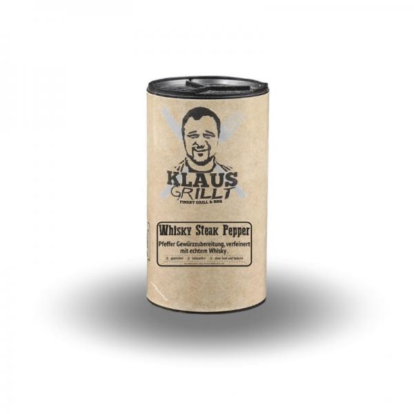 Klaus Grillt Whisky Steak Pepper 100 g Streuer