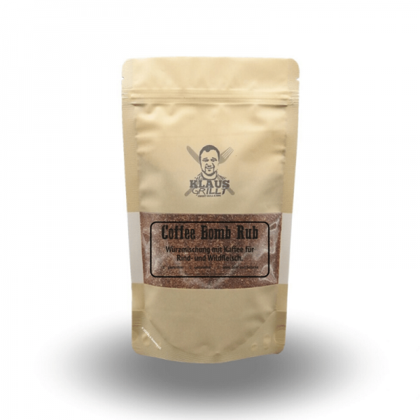Klaus Grillt Coffee Bomb 250g Beutel